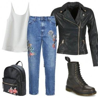 Outfit Rock\'n\'flower