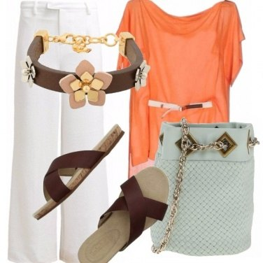 Outfit Ciabatta in chiave chic