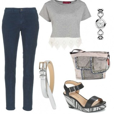 Outfit In grigio