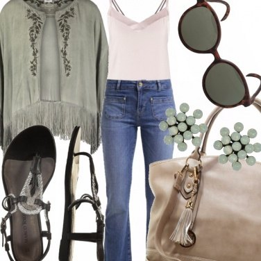 Outfit Pale green