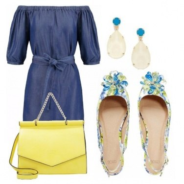 Outfit Jeans dress