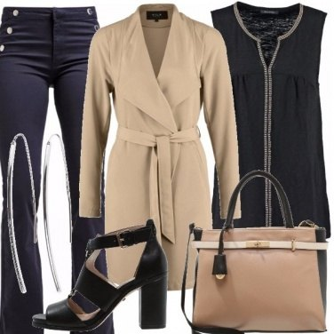 Outfit Un beige accattivante