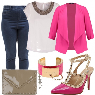 Outfit Curvy glam