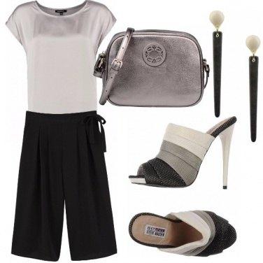 Outfit Rivisitazione del black & white