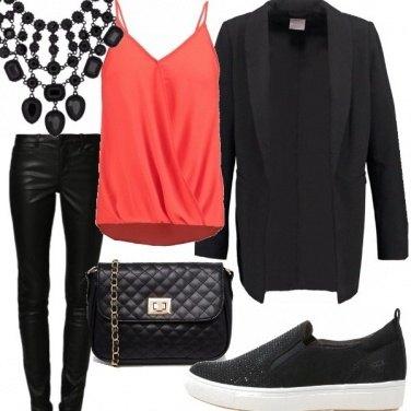 Outfit Blazer lungo