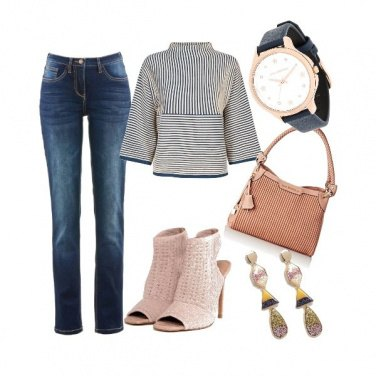 Outfit Di tendenza in jeans