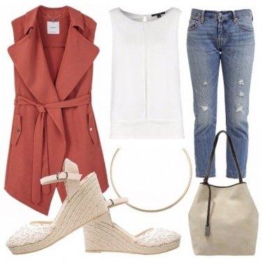 Outfit Senza maniche