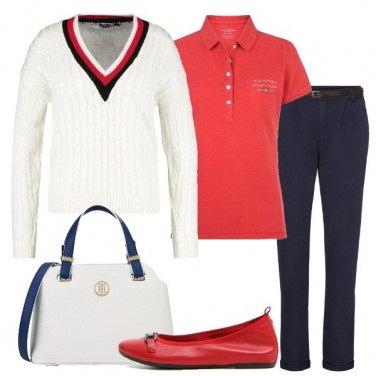Outfit Bon ton con stile