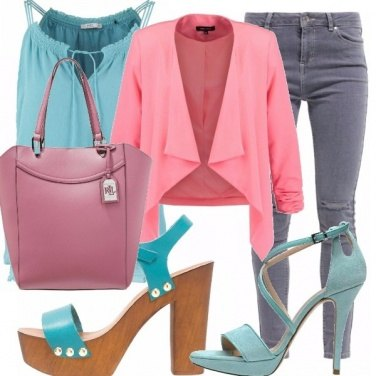 Outfit Chic o casual in jeans!