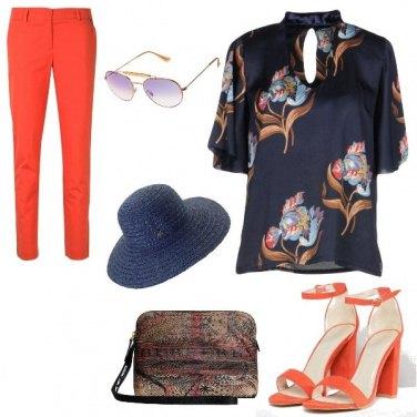 Outfit Orange salmon