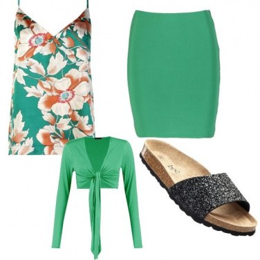 Outfit Lungomare in verde