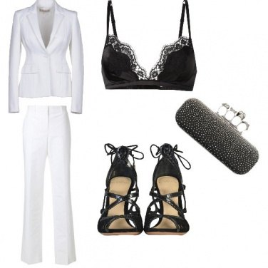 Outfit Luxury black&white