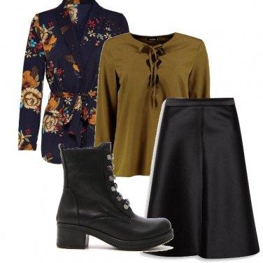 Outfit Decisa ed elegante
