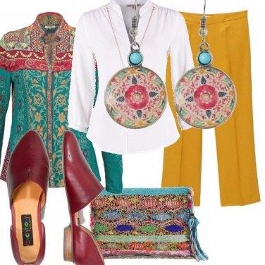 Outfit Moderatamente folk