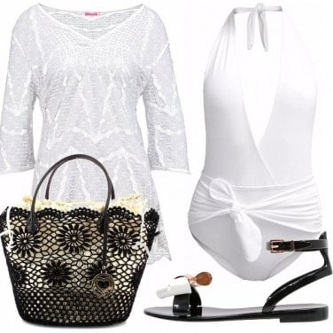 Outfit Bianco elegante!