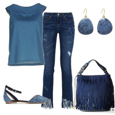 Outfit Blu