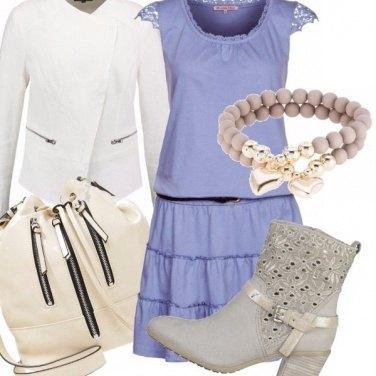Outfit Stivaletto ed abito