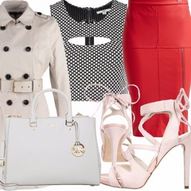 Outfit Touch of red