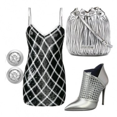 Outfit Argento