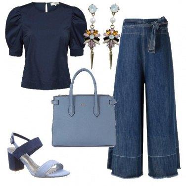 Outfit Jeans elegante in ufficio