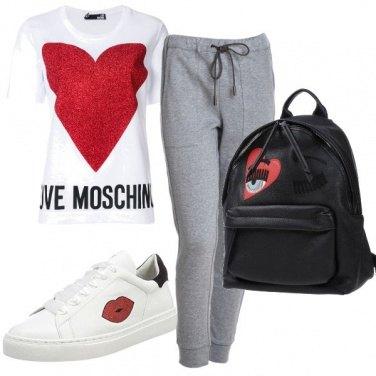 Outfit Romanticismo sportivo