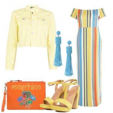 Outfit Colori solari