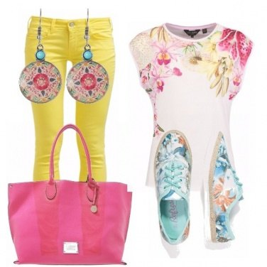 Outfit Happy color!