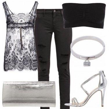 Outfit Rock raffinato