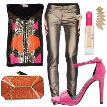 Outfit Brillante di colori
