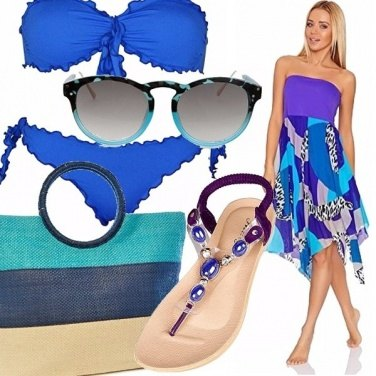 Outfit Amo il blu