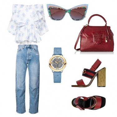 Outfit Elegante anche in jeans