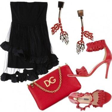 Outfit Ruches da cerimonia