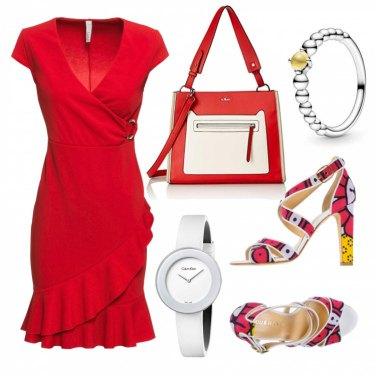 Come abbinare il vestito rosso: 1000 Outfit Donna | Estate
