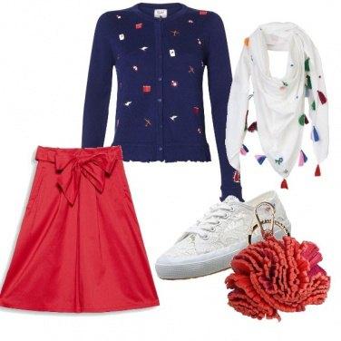Outfit A scuola in primavera