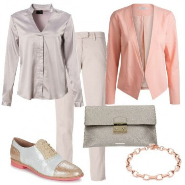 Outfit Mannish Chic