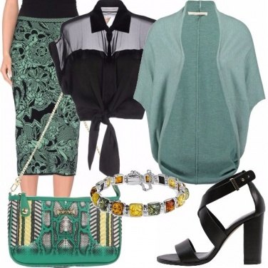 Outfit Animalier etnico
