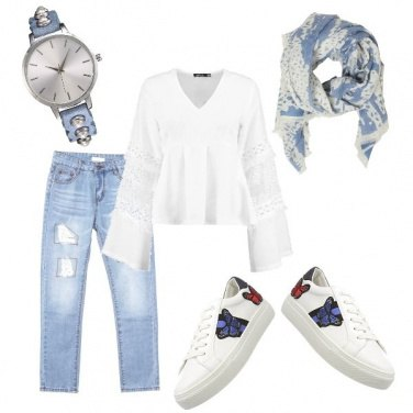 Outfit Primavera pastello