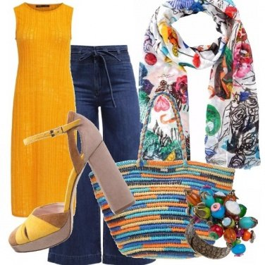 Outfit Spazio ai colori per l\'estate!