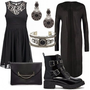 Outfit Urban dark lady