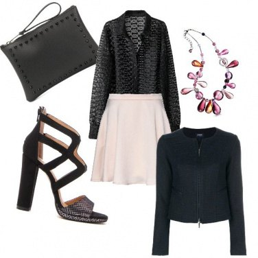 Outfit Tocco rosa