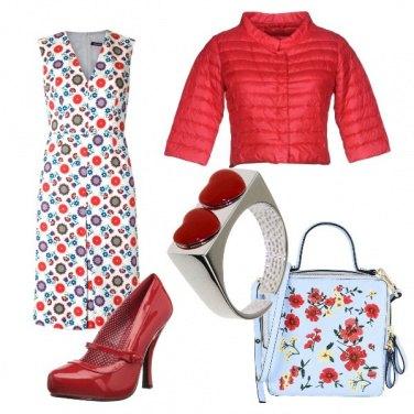 Outfit Cuori da pin-up