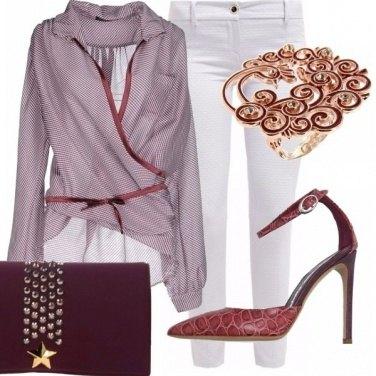 Outfit Serata in tacchi e pantaloni