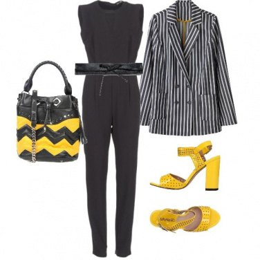 Outfit Jumpsuite in ufficio