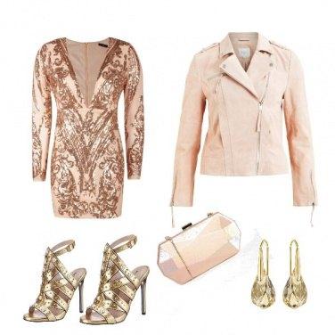 Outfit Cerimonia gold