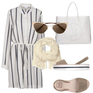 Outfit Light Stripes - Curvy -