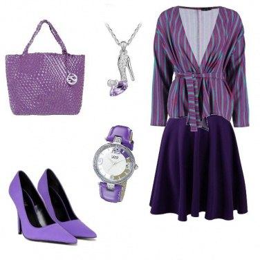 Outfit Fresco viola