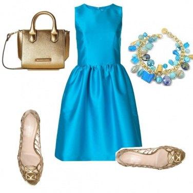 Outfit Preziosa in azzurro