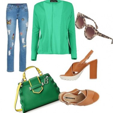 Outfit Summer in green...