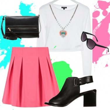 Outfit Pop of color