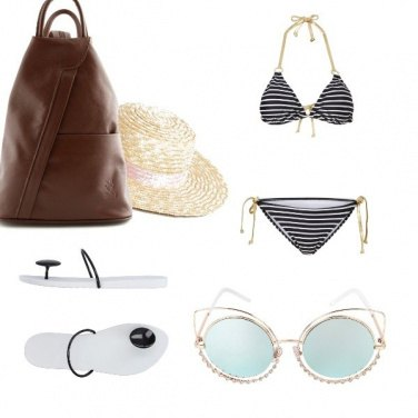 Outfit Trendy al mare con low budget